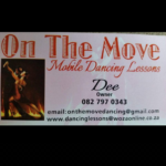 ON THE MOVE MOBILE DANCE LESSONS